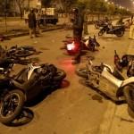 Vụ 30 thanh niên tụ tập gây tai nạn liên hoàn không phải đua xe trái phép