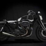 Xe Harley độ gây nhiều tranh cãi của thợ máy Tây Ban Nha