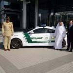 Cận cảnh xe sang Lexus Lexus RC F của cảnh sát Dubai