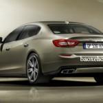 Choáng mức giá rẻ của xe siêu sang Maserati Quattroporte chính hãng Việt Nam