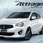 Xe Mitsubishi Attrage cỡ nhỏ mới giá bán từ 283 triệu đồng