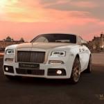 Mansory độ vàng siêu xe Rolls-Royce Wraith