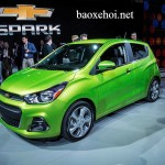 Xe giá rẻ Chevrolet Spark 2016 giá từ 135 triệu đồng