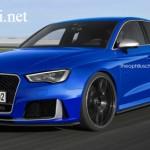 Xe công suất lớn Audi RS3 Sedan sẽ ra mắt năm 2018