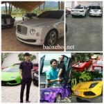 Những đại gia chơi siêu xe nhất Sài Gòn từ xưa đến nay