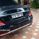 """Xe Maybach S600 biển đẹp """"san bằng tất cả"""" ở Nghệ An"""