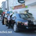 Xe siêu sang Rolls royce Phantom biển đẹp Bắc Ninh tái xuất