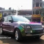 Xe Range Rover Autobiography LWB màu độc tái xuất ở Huế