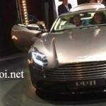 Ảnh chính thức của siêu xe Aston Martin DB11 trước khi ra triển lãm