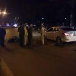Tai nạn xe Dream đâm xe Hyundai accent ở Vĩnh Phúc