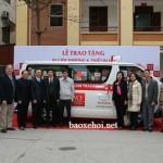Toyota Việt Nam tặng xe cứu thương cho bệnh viện đa khoa Hà Giang