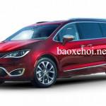 Chrysler Pacifica 2017 xe điện minivan đầu tiên trên thế giới