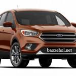 Xe SUV Ford Escape 2017 sắp ra mắt chính thức