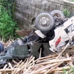 Xe tải lao xuống vực sâu 7 người thương vong ở Hà Giang