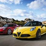 Đánh giá xe thể thao Ý Alfa Romeo 4C Spider giá từ 1,5 tỷ đồng