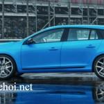 Volvo Polestar xe gia đình công suất 450 mã lực