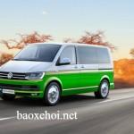 Xe gia đình Volkswagen T6 E-Motion độ trục sau điện hóa