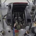 Bảo dưỡng động cơ siêu xe Lamborghini Gallardo rất phức tạp