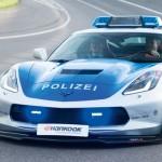 Xe cảnh sát đuổi theo 2 siêu xe mô tô tốc độ rất nhanh