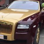 Rolls-Royce Ghost mạ vàng độc nhất Việt Nam đã được bán ?