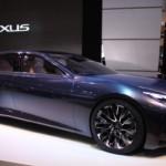 Nội thất xe Lexus LS mới sang trọng xứng tầm cho đại gia