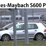 Ngắm xe siêu sang Maybach S600 Pullman đồ sộ trên đường