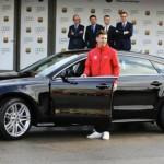 Ngắm dàn xe sang Audi đắt tiền của sao bóng đá Barcelona