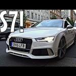 Thử nghiệm cảm giác ngồi trong siêu xe Audi RS7