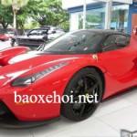 Siêu xe Ferrari LaFerrari cũ giá bán đắt gấp 3 lần xe mới