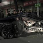 """Hành trình """"phá nát"""" siêu xe BMW i8 của thiếu gia ở Hà Nội"""