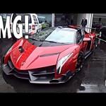 Ngắm tận mắt siêu xe Lamborghini Veneno Roadster 80 tỷ đồng