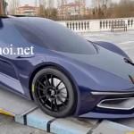 Ngắm từng đường nét siêu xe tương lai IED Syrma