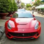 Siêu xe Ferrari F12 ở Hải Phòng đến đất Sài Gòn