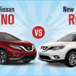 Đánh giá 2 xe đường phố Nissan Rogue và Nissan Murano