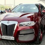 Ngắm xe sang BMW X6 độ siêu xấu số 1 thế giới