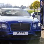 Tiền đạo Vardy tự mua xe siêu sang Bentley đời 2016