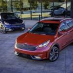 Xe nhỏ Kia Niro Hybrid 2017 tiết kiệm và tiện dụng trong đô thị