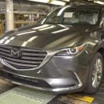 Xe SUV cỡ lớn Mazda CX-9 2017 đang bắt đầu sản xuất