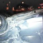 Xe ô tô lái tốc độ nhanh đâm 2 người đi xe máy chết tại chỗ