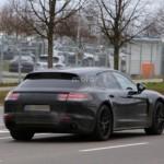 Porsche Panamera Shooting Brake đang chạy thử