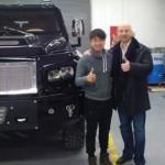 Về Việt Nam siêu xe SUV bọc thép Knight XV có giá bao nhiêu ?
