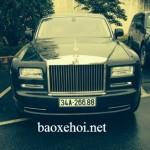 Xe siêu sang Rolls royce Phantom EWB series II về Hải Dương