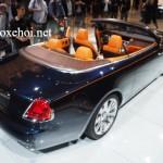 Những điều bạn chưa biết về xe siêu sang Rolls-Royce Dawn