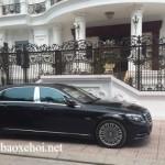 Xe siêu sang Maybach S600 giá 11 tỷ về Ninh Bình