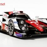 Xe đua thể thao Toyota TS050 LMP1 lộ hình ảnh
