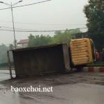 Tai nạn xe ô tô tải ở Thái Nguyên