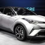 Ngắm xe Mini Toyota C-HR 2016 nhỏ gọn, thực dụng