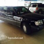 Siêu xe Mercedes S class Limousine về Ninh Bình gây xôn xao