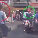 Đôi nam nữ cướp điện thoại bị bắt nhờ camera hành trình
