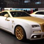 Xe siêu sang Rolls-Royce Wraith độ kiểu Dubai